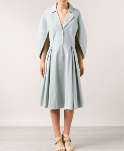 cape shirt dress